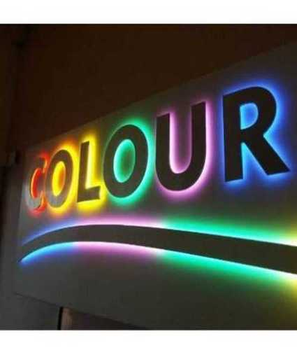Electric Led Sign Board Application: Advertisement