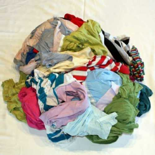 Used Cotton Waste Clothes