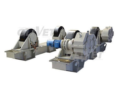 200T Capacity Adjustable Turning Rolls HGK Series