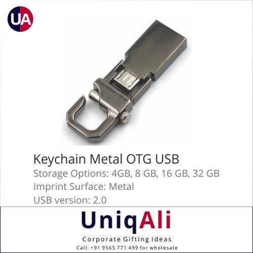Keychain Metal OTG USB Pen Drive