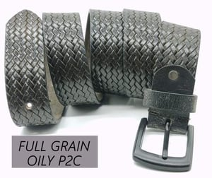 P2C Printed Leather Belts