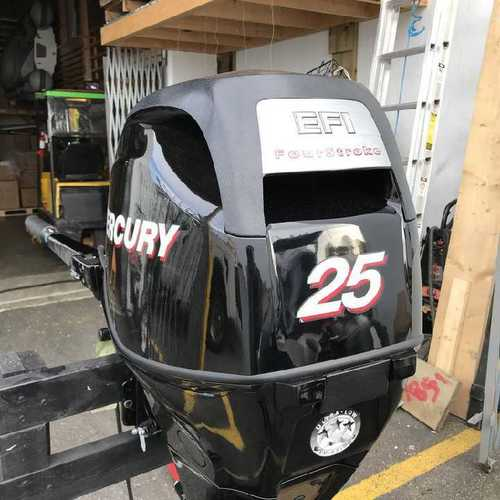 2018 Clean Used Mercury 25HP 4 Stroke Outboard Motor Engine