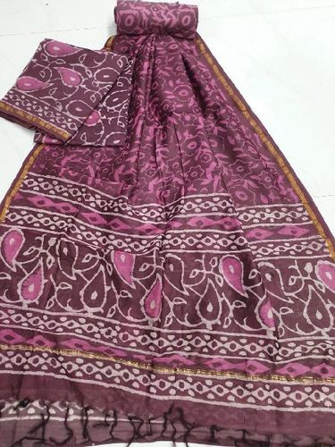 Attractive Pattern Chanderi Suits
