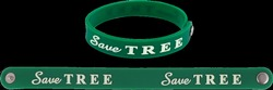 Green Printed Wrist Bands