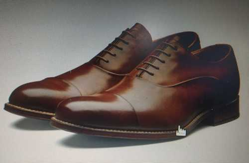 Mens Formal Brown Leather Shoes
