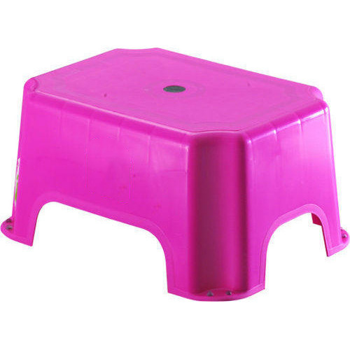Pink Color Bathroom Stool