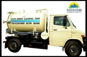 Sfcpl Sewer Cleaning Tank