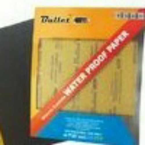 Water Proof Polish Paper