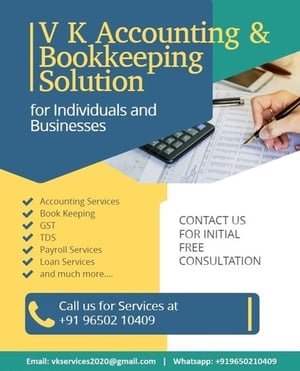 Accounting And Bookkeeping Solution Services