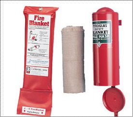 Flexible And Resilient Fire Blanket
