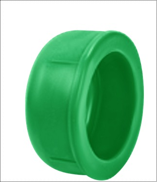 Green Color Ppr End Cap