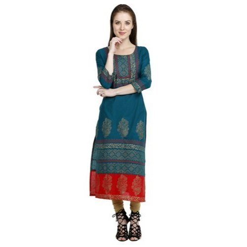 Ladies Casual Printed Kurti