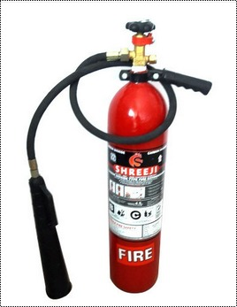 Red Color Fire Co2 Extinguisher