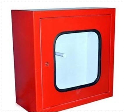 Red Color Fire Hose Cabinet