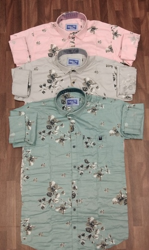 Twill Printed Casual Shirt