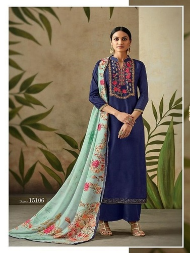 RSF Presents Miara Pure Upada Silk With Heavy Handwork Suit