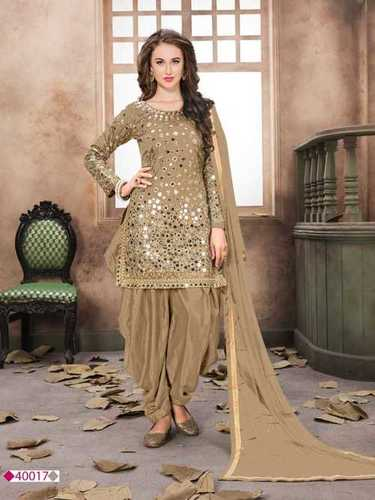 Silk Salwar Kameez Decoration Material: Beads