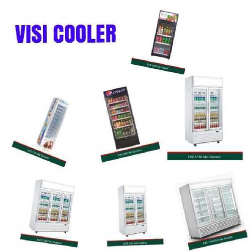 Single to Triple Door Visi Cooler