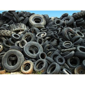 All Kind Waste Tyre