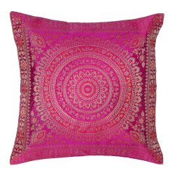 Brocade Silk Cushion Cover