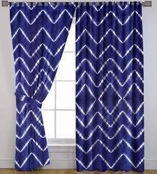 Cotton Shibori Curtain Valances