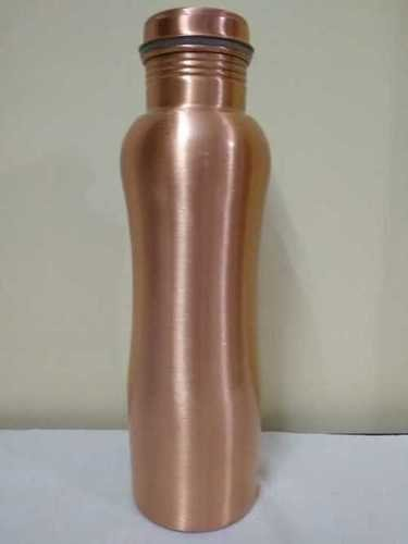 Curved Copper Water Bottle