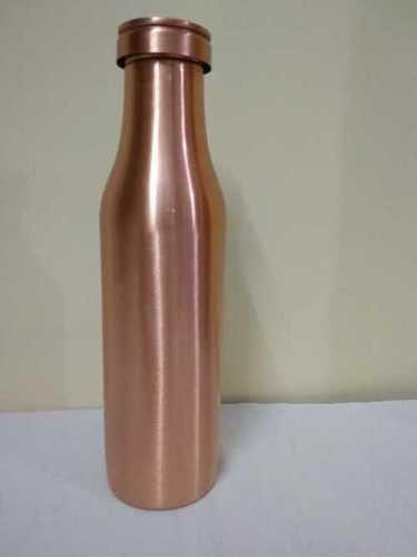 Available In Many Colors Milk Bottle Shape Copper Water Bottle
