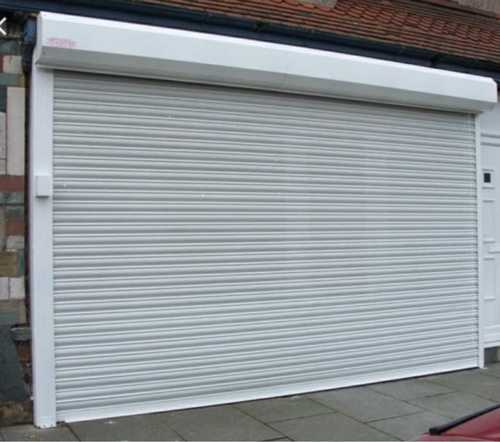 Motorized Steel Rolling Shutters