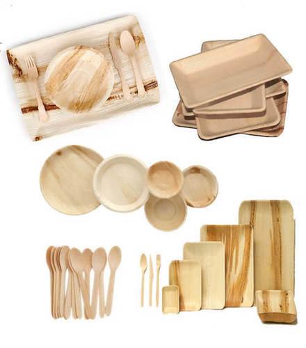 Natural Areca Leaf Plates Design: Customized