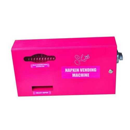 Pink Color Napkin Vending Machine