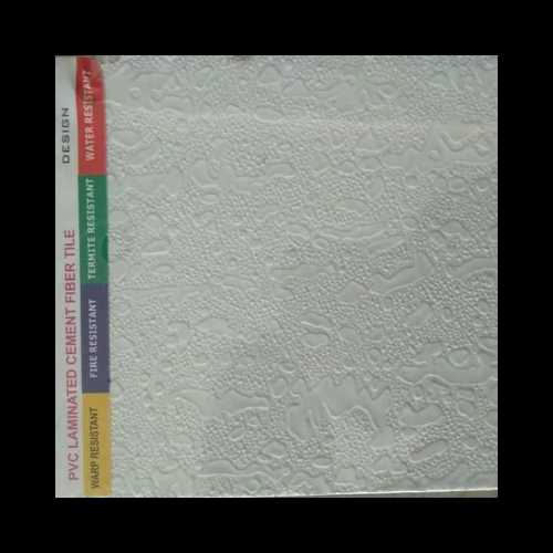 PVC Laminated Cement Fiber Ceiling Tile