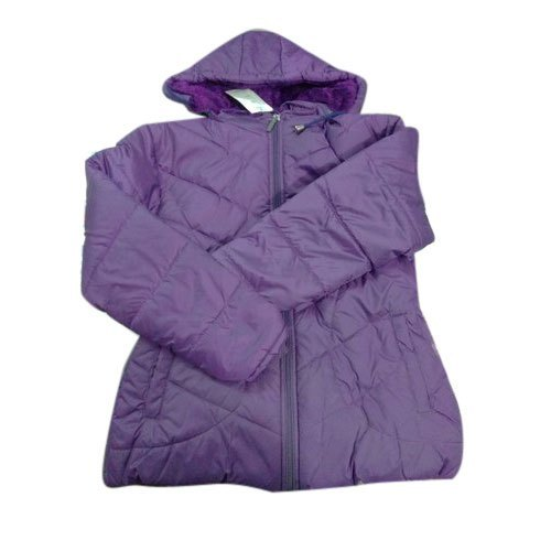 Full Sleeve Ladies Purple Jacket