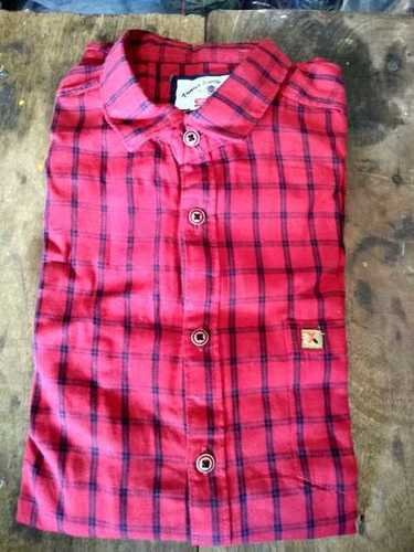 Mens Cotton Check Shirts Age Group: Adult