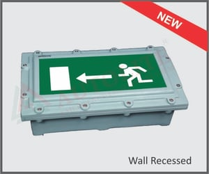 Maintained Flame Proof Exit Lights