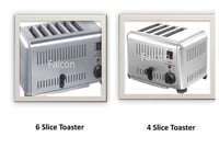 4 and 6 Bread Slice Toaster