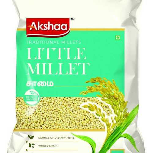Brown Organic Semi Polished Little Millet