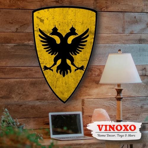 VINOXO Large Size Wall Hanging Shields