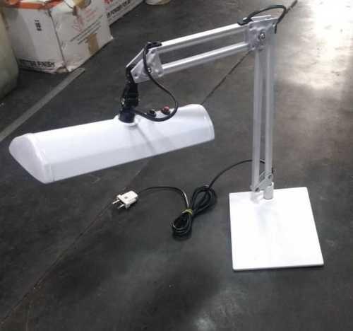 Designer White Table Lamp Light Source: Energy Saving