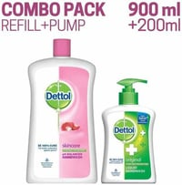 Dettol Liquid Hand Wash Soap Jar