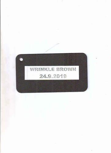 Wrinkle Brown Coating Powder