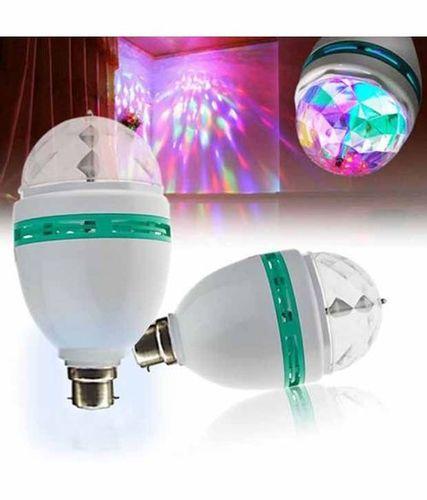 Disco LED Bulb Or Rotating 360 LED Colour Bulb