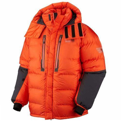 Full Sleeve Mens Orange Jacket Size: Medium