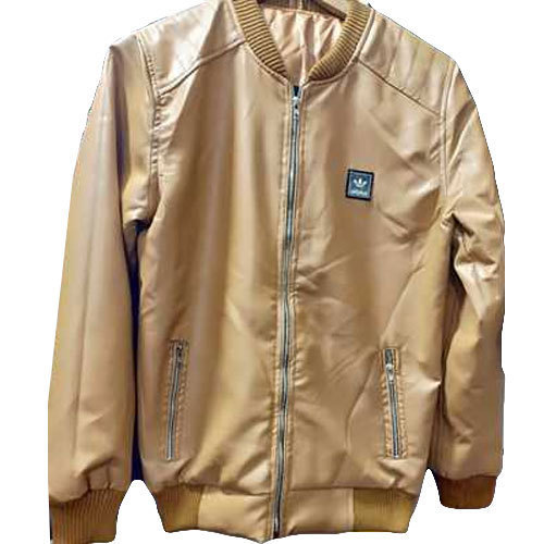 Color Men Brown Winter Jacket