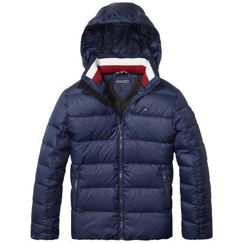 1 Mens Navy Blue Hooded Jacket