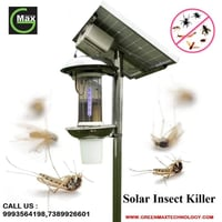 Solar Powered Insect Killer System
