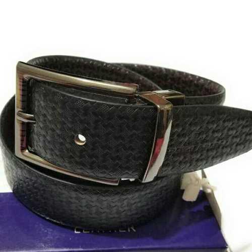 Mens Black Formal Belts