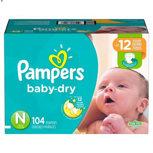 Baby Diapers Packs (Pampers)