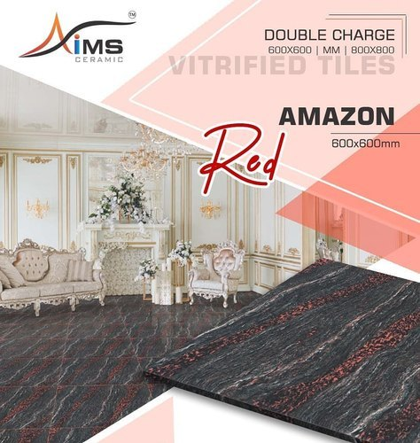Double Charged Vitrified Tiles 600 X 600 Mm