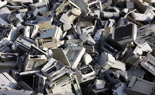 Electronic Waste Scraps