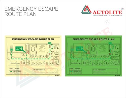 Emergency Escape Route Plan
